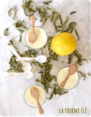 panna cotta citron verveine