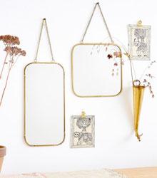 carnet de shopping fete des meres petit bohemes miroir laiton