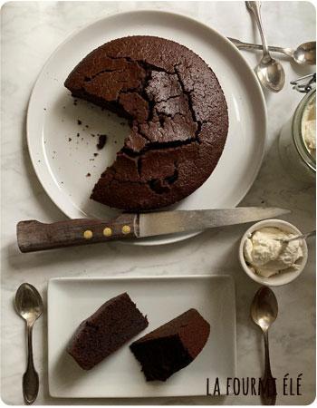 Gateau au chocolat et a la Guinness